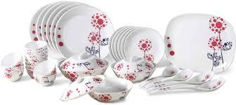 borosil pack of 35 dinner set price in india buy borosil pack of