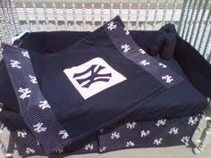 Yankees Crib Bedding Custom Made 7 New York Yankees Crib Bedding Set Ny