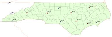 Ncsu Campus Map North Carolina Atmospheric Chemistry Consortium