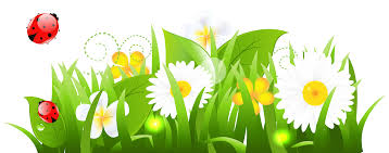grass and flowers clipart clipartix