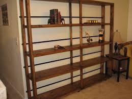 rustic industrial bookshelf u2013 hooper design company