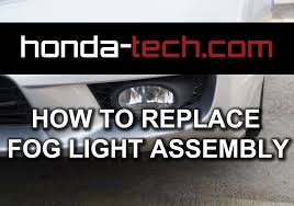honda accord bumper replacement cost honda accord how to replace fog light assembly
