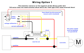 ammeter circuit diagram wiring diagram components