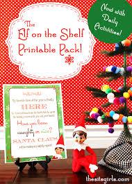 printable elf girl elf on the shelf printables the sits girls