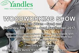 Woodworking Machinery Shows Uk yandles show 2017 news