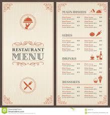 Elegant Formal Dinner Menu Ideas Elegant Dinner Menu Template