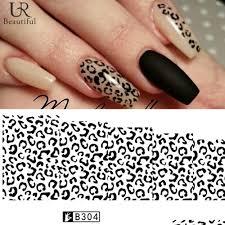 popularne white leopard nails kupuj tanie white leopard nails