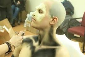 special effects makeup schools in chicago on prosthetic application shoot experience special