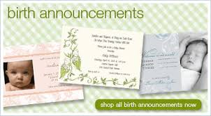 baby birth announcement cards baby invitations