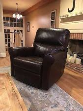 leather rocker recliner furniture ebay