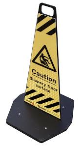 Slippery Floor Road Cones 500mm Flat Pack Delineator For Only 17 80