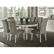 7 piece round kitchen u0026 dining room sets you u0027ll love wayfair