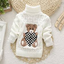 baby sweaters 1 2 3 year baby sweaters knitted turtleneck autumn winter