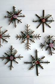best 25 rustic ornaments ideas on diy