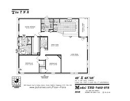 moble home floor plans tnr 7483 mobile home floor plan ocala custom homes