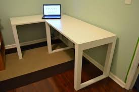 Diy Simple Desk Fabulous Diy Corner Desk Ideas Charming Home Office Furniture With