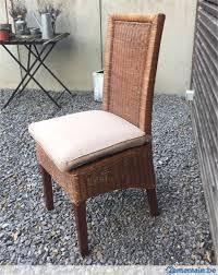 chaises en osier chaises en osier a vendre à soumagne melen 2ememain be