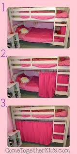 Little Girls Bunk Bed by Best 25 Bunk Bed Fort Ideas On Pinterest Fort Bed Loft Bed Diy