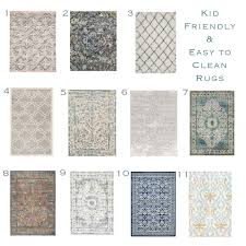 Modern Rugs Affordable by Sita Montgomery Interiors Kid Friendly Rug Round Up Rugs