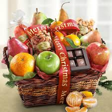 christmas fruit baskets fruit basket delivery is the gift to send for s