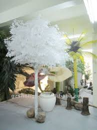 sj quality artificial ficus with white leaves artificial trees