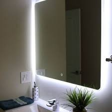 Modern Bathroom Mirror Lighting Bathroom Mirror Light Fixtures Home Lighting Insight In Glass