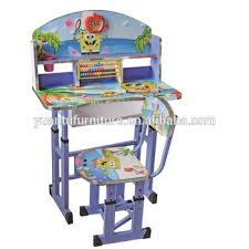 children study desk and chair cheap factory price children study