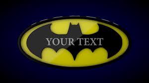 free 3d batman intro 146 cinema 4d effects template