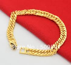 gold bracelet chains images Ba1189 new fashion and charm men wedding anniversary party jpg