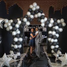 balloon delivery huntsville al celestial balloon arch with balloons shindigz