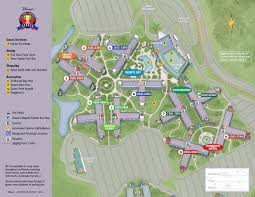 Disney Downtown Map Maps Planwdw Com