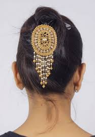 hair bun accessories hp 39 traditional pearl made bun pin jewelry indian bridal