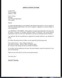 sample cover letter for graduate