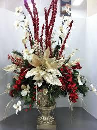 christmas floral arrangements christmas floral arrangements best 25 christmas floral