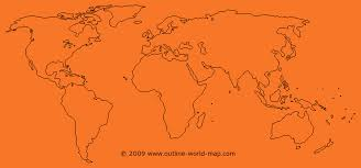 Outline World Map World Map Template Sow Template