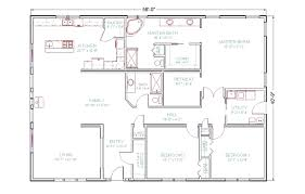 exellent house floor plans 4 bedroom 3 bath plan the t n r model