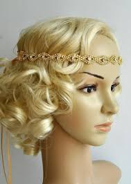 gatsby headband gold rhinestone headband great gatsby headband headband