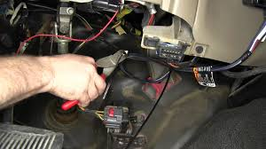 installation of the trailer brake controller on a 2004 ford f 350