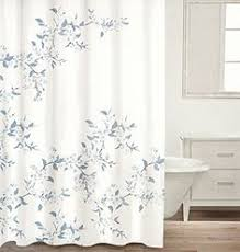 Cherry Blossom Curtains Water Repellent Fabric Shower Curtain Botanical Nature Floral