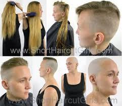 how to undercut short haircut girls