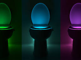 toilet light illumibowl is a night light for your toilet boing boing
