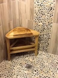 Bathroom Tile Floor 25 Best Pebble Tile Shower Ideas On Pinterest Pebble Color