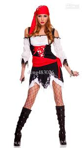 cheap costumes for women new arrive free shipping pirate costume women s