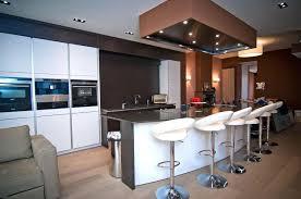 cuisine moderne ouverte cuisine ouverte avec ilot table galerie web pour site par ilot