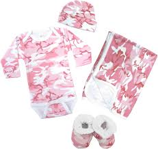 pink clothing pink camo baby clothing deluxe gift set baby n toddler