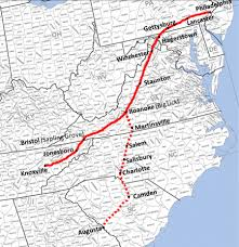 map of the road great valley road genealogy familysearch wiki