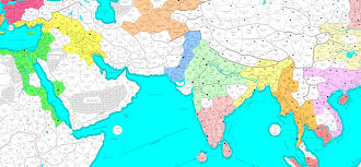 Southern And Eastern Asia Map by Lords 20 Maps