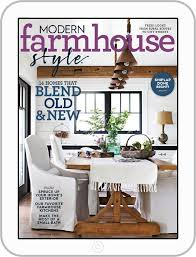 modern farmhouse style magazine digital discountmags com