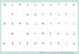 1st grade writing paper with picture box 27 downloadable hiragana charts make your own hiragana chart