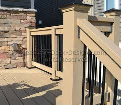 How To Make Handrails For Decks Deck Railing Ideas Styles For Top And Bottom Rails